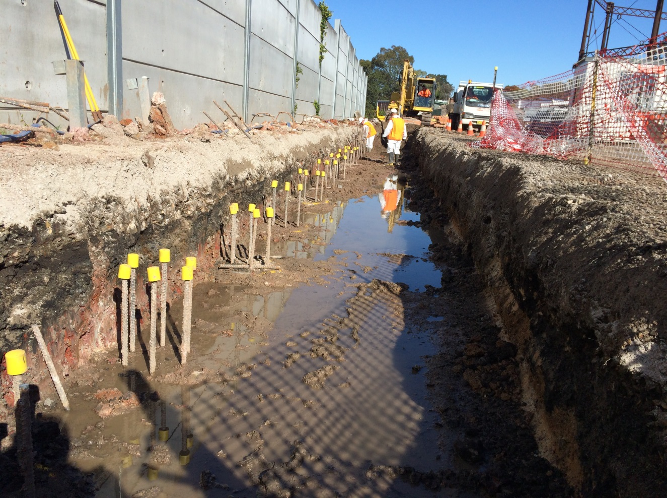 Macdonaldtown Gasworks Remediation Installation Of